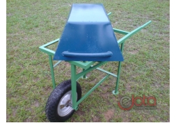 Carrinho caçamba removível carga 50 kg