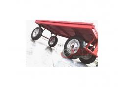 Carrinho Plataforma Piso Madeira carga 600 kg