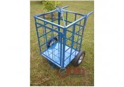 Gaiola com rodas para Grua carga 330 kg