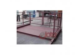 Plataforma de grua capacidade 4 Tn